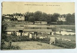 Germigny - L'eveque - Les Bords De La Marne  Couru Vers Cuerne - Kuurne 1925 - France