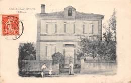 31 - HAUTE GARONNE / Castagnac - 31065 - L'école - Beau Cliché - Frankrijk