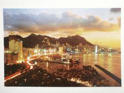 Postcard Hong Kong Beautiful Dusk Scene Of Victoria My Ref B21684 - China (Hong Kong)