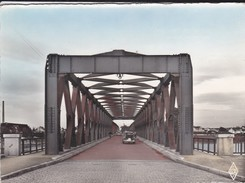 67----STRASBOURG--le Pont Sur Le Rhin--( Voiture 203 PEUGEOT ---voir 2 Scans - Strasbourg