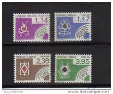 Preo (serie De 1984 ) Cartes A Jouer  N°182 / 85 **vendu A La Faciale Prix De La Poste - Precancels