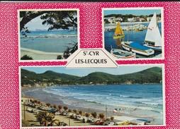 83----SAINT-CYR--LES LECQUES--( Peu Courante )-multivues--voir 2 Scans - Saint-Cyr-sur-Mer