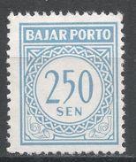 Indonesia 1962. Scott #J81 (MNG) Postage Due, Frais D'envoi - Indonésie