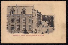 TORHOUT  -  THOUROUT --- MAISON GOETHALS ET RUE DE LA STATION - Torhout