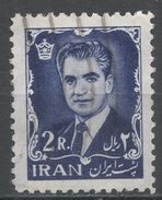 Iran 1962. Scott #1214 (U) Mohammad Reza Shah Pahlavi - Iran