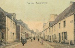 "CPA FRANCE 56 ""Ploërmel, Rue De La Gare"" - Ploërmel"