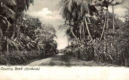 HONDURAS. COUNTRY ROAD - Honduras