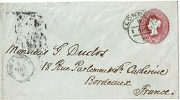 PUY15/1EU2GB- EP ENVELOPPE CIRCULEE - Stamped Stationery, Airletters & Aerogrammes