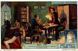 CHROMO LIEBIG RICCARDO WAGNER RICHARD WAGNER - Liebig