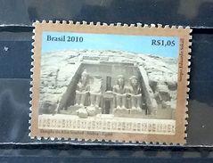 BRAZIL C 3001 Selo Templo Abu Simbel Egito Nubia 2010 Egypt - Unused Stamps
