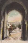 Maroc - Tanger - Lot De 2 CPA  - Architecture  Rue De La Casbah + Porte . Voir 2 SCANS - Tanger