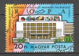 Hungary 1983 Mi 3465A MNH EUROPA - Ungarn