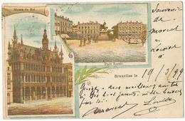 Bruxelles  Couleur Litho 1899 - Belgium