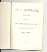 """VERVIERS - Carnet De """" La Chaussure """" Société Coopérative Fondée En 1919 (b209) - Old Paper"""