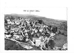 LA TOUR D'AUVERGNE  (cpsm 63) Vue Générale Avec La Chaine Du Sancy  -   - L 1 - Autres Communes