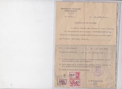 ANDERLECHT CERTIFICAT DE CIVISME - Historische Dokumente