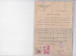 ANDERLECHT CERTIFICAT DE CIVISME - Historical Documents