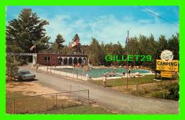 RAWDON, QUÉBEC - CAMPING PARC ENSOLEILLE INC - PISCINE CHAUFFÉE - CIRCULÉE EN 1987 - UNIC - - Autres