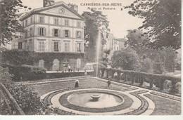 Carrieres Sur Seine-Mairie Et Parterre. - Carrières-sur-Seine