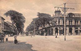 "D6242 ""SRI LANKA - YORK STREET, COLOMBO""  ANIMATA, TRAMWAY.  CART  NON  SPED - Sri Lanka (Ceylon)"