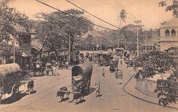 "D6244 ""SRI LANKA - PETTAH MARKET""  ANIMATA, CARRI CON BUOI, TRAMWAY. CART  NON  SPED - Sri Lanka (Ceylon)"