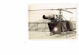 Photographie - ALGERIE - Hélicoptère N°53 Cible - Krieg, Militär