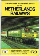RB 1165 - Book - Locomotives & Coaching Stock Of The Netherlands Railways - Books, Magazines, Comics