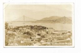 SAN FRANCISCO - THE GOLDEN GATE BRIDGE   VIAGGIATA  FP - San Francisco