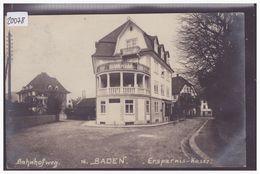 BADEN - BAHNHOFWEG - ERSPARNIS KASSE - TB - AG Argovie