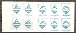 Andorra (fr.) 1997 Carnet Booklet Wappen Blason Encamp Michel No. MH 0-7 (506) Postfrisch Mint Neuf - Carnets