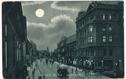 Warszawa Nowi Swait  1904 Horse Tram S. Ros London - Polen