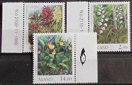 ALAND 1989 MI-NR. 33/35 ** MNH - Aland