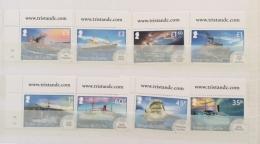 Tristan Da Cunha  2015 EARLY MAIN SHIPS SET MNH 2 SCANS - Tristan Da Cunha