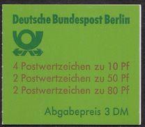 Berlin Juni 1989 / MiNr.  MH 14  OZ  Mit  H-Blatt 22    ** / MNH   (mh1037) - Berlin (West)