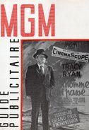 """CINEMA.FILM """"UN HOMME EST PASSE""""AVEC TRACY ET RYAN. M G M . GUIDE PUBLICITAIRE ET DOSSIER DE PRESSE.1955.achat Immédiat - Cinema Advertisement"""