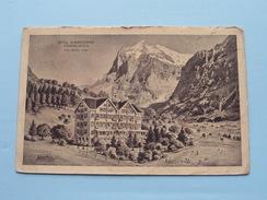 Hotel SCHWEIZERHOF Grindelwald ( Adolf Anneler Prop. ) Anno 1913 ( Zie Foto's Voor Detail ) ! - BE Berne