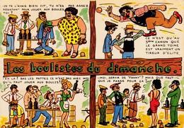 LES BOULISTES DU DIMANCHE  En Quatre Tableaux... - Humour