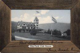 CPA USA - Elka Park Club House - Tannersville Catskill Mountains - NY New York 1905 - Etats-Unis - Drapeau Allemand - Catskills