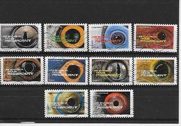 FRANCE 1152-1153-1155 à 1158-1160 à 1161 Oblitérés Vague - Sellos Autoadhesivos