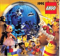 UN CATALOGUE LEGO DE 1995 56 PAGES COULEUR LEGER PLI SUR LA DE (SUR MON SITE Serbon63 DES MILLIERS D'ARTICLES EN VENTES) - Catalogs
