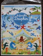 DECORAMA DECALCOMANIES TRANSFERT LITO - LA FAMILLE DAUPHIN - Scrapbooking