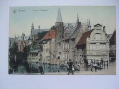BELGIUM - Bruges - Le Quai De Rosaire - Brugge