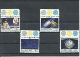 BARBADOS  YVERT  736/39  MNH  ** - Barbados (1966-...)