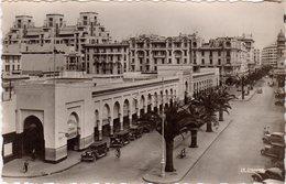 CPSM Maroc - Casablanca 20000 - Marché Central Et Boulevard De La Gare - 1951 - La Cigogne 136 - Casablanca