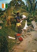 1 AK Elfenbeinküste Côte D'Ivoire * Verkauf Von Palmenherzen - Sale Of Palm Hearts * IRIS Karte * - Elfenbeinküste