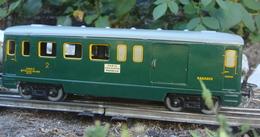 Trains Hornby Wagon Voyageurs Mixte Fourgon 2 ème Classe - Voitures Voyageurs