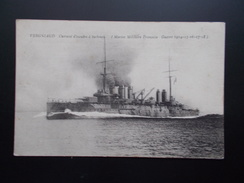 VERGNIAUD   Cuirassé D'escadre à Turbines  1914/18 - Guerra