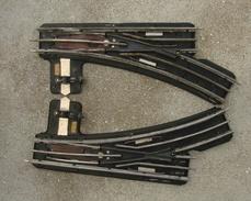 Trains Hornby Paire D'aiguillage Talonnable - Rails