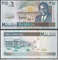 Malawi 10 KWACHA 1995 P 31 UNC - Malawi
