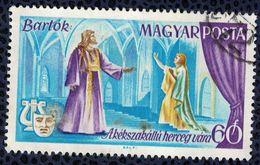 Hongrie 1967 Oblitéré Used Scènes Opéra Le Château Du Prince Barbe Bleue De Bartok SU - Ungarn